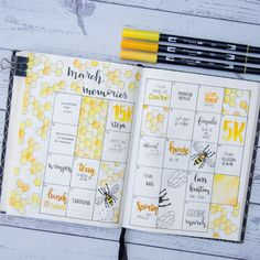 Why having a memory spread in your bullet journal is awesome 29 Examples My Inner Creative Bullet Journal Spreads, March Bullet Journal, Bullet Journal Cover Page, Bullet Journal Notebook, Bullet Journal Layout, Bullet Journal Inspiration, Journal Pages, Memory Journal, Bullet Journal Aesthetic