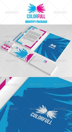 word company corporate identity package office package logos