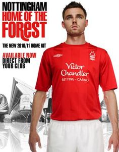 2010/2011 Kit. Nottingham Forest, Polo Ralph Lauren, Kit, Mens Tops