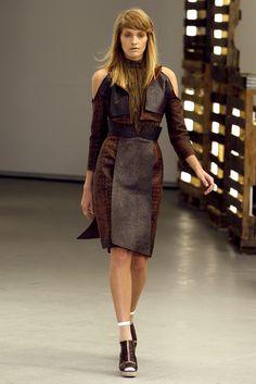 Rodarte RTW S/S 2011.  Model - Heidi Mount.