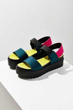 0847edf0358 Scuba Platform Sandal. Urban Outfitters