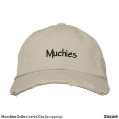 Munchies Embroidered