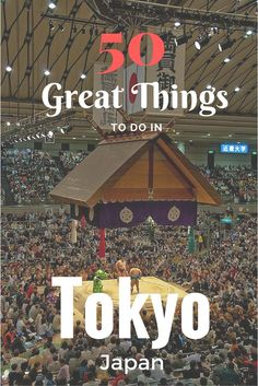 Going to Tokyo? Check out thi list of great things to do in this incredible city!