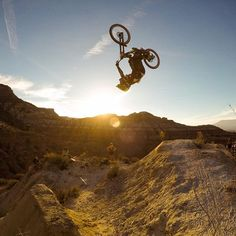 Sending it at #RedBullRampage! Tune into @redbulltv today and check out our Story from #Utah! #: @geoffgulevich : @tylermccaul