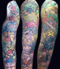 Gamer sleeve tatau video game tattoos, gaming tattoo и gamer Gamer Tattoos, Tribal Tattoos, Tattoos Geometric, Tattoos Skull, Trendy Tattoos, Tattoos For Guys, Cool Tattoos, Tatoos, Fly Tattoos