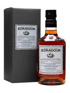 A single cask 2006 vintage Edradour, selected by The Whisky Exchange in early 2013 and bottled by the distillery at 7 years of age. While visiting the distillery we tried a number of their single c...