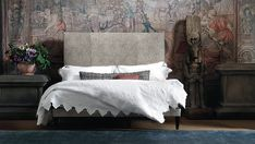 British beds for a great nights sleep - Period Living Period Living, Cool Beds, Furniture Inspiration, Design Inspiration, Bed Styling, Luxurious Bedrooms, Bed Design, Decoration, Luxury Bedding