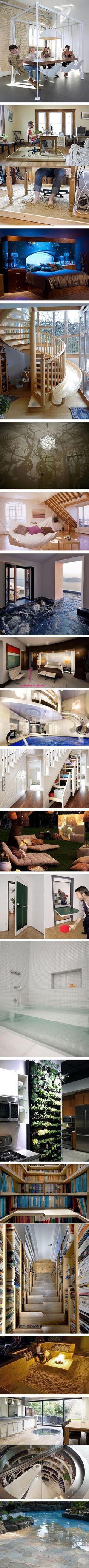 Um yes please Especially the shoe closet in the ground - interiors-designed.com