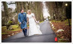 Beautiful Carberry Tower Wedding Photography for Alison & Neil's Special day at This Prestige East Lothian Wedding Venue. The Perfect Winter Wedding.