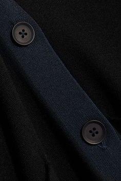DKNY - Merino Wool Cardigan - Black - x small