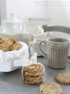 #Healthycooking #Biscotti Biscotti ai fiocchi d'avena e cannella