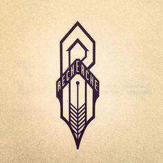 fountainpen company logo by flyboy11