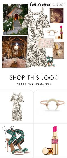 """""""The bohemian."""" by cheetakat12 on Polyvore featuring Dorothee Schumacher, Aquazzura, Yves Saint Laurent, Lilly Pulitzer, bestdressedguest and barnwedding"""