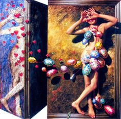 ANGLE OF LOVE -  oil on canvas, 2003