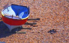 Boats and sand