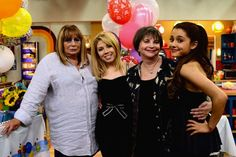"""Thirty years after """"Laverne & Shirley"""" ended its eight-season run on ABC, stars Penny Marshall and Cindy Williams are reuniting for guest appearances on Nickelodeon sitcom """"Sam & Cat."""" Marshall and Williams play a pair of feuding TV show creators who created a popular sitcom in the '70s called """"Salmon Cat."""" Sam (Jennette McCurdy) and Cat (Ariana Grande) must track them down to resolve their decade-long feud, so the young women can keep the name of their similar-sounding baby"""