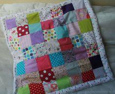 patron couture couverture patchwork