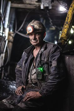 coalmining by Roman Shalenkin People Photography, Photography Business, Portrait Photography, Editorial Photography, Coal Miners, Environmental Portraits, Industrial Photography, Business Portrait, Afraid Of The Dark
