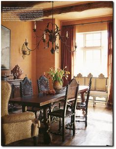 Old World Italian Texas Home- Designer Eleanor Cummings Seen In House Beautiful's April 2010 Issue
