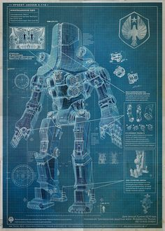 Blueprint art google search art inspiration pinterest pacific rim blueprint jaeger cherno alpha malvernweather Image collections