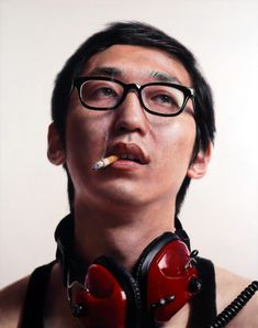 Kang Kang Hoon's Insanely Detailed Portraits Are Not Photographs... They Are Jaw-Dropping Paintings