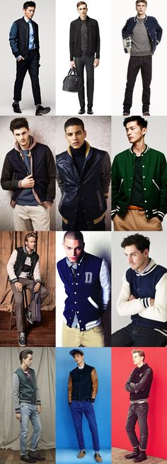 Men's Varsity Jackets - Smart Outfit Inspiration
