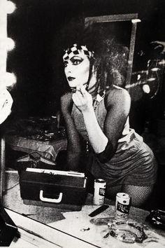Siouxsie Sioux (of the Banshees), Schlitz drinker.