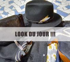 #lookdujour #lookoftheday #matieresareflexion #stetson #charlottesometime #pull #manteau #coat #sac #bag #chapeau #hat