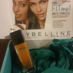 @influenster @Maybelline#Fitme foundation