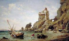 Salerno, Italy, 1849 by Edward William Cooke (British 1811–1880)