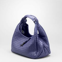 Indigo Blu Intrecciato Nappa Campana Bottega Veneta Bag  My new dream bag.
