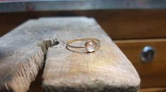 Yellow gold and rose gold  18kl with rose quartz by lemv