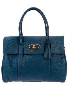 "Mulberry - Bolsa Azul modelo ""Bayswater"""
