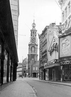 """Daybreak in the Kalverstraat"" Amsterdam 1956. photo: Kees Scherer"