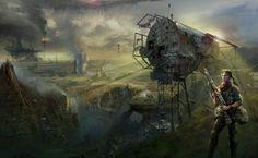Post Apocalyptic HD Wallpaper