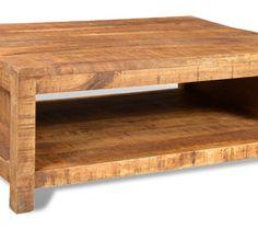 241131 Stolik do kawy z drewna mango w stylu antycznym - Stoliki i ławy - zdjęcia, pomysły, inspiracje - Homebook