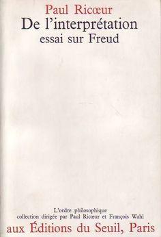 #philosophie : De l'interprétation - Essai Sur Freud  - Paul Ricoeur. Peut-on écrire sur Freud sans être ni analyste ni analysé ? Non, s'il s'agit d'un essai sur la psychanalyse comme pratique vivante ; oui, s'il s'agit d'un essai sur l'œuvre de Freud comme document écrit, auquel la mort de son auteur a mis un point final : une interprétation d'ensemble de notre culture, qui a changé la compréhension que les hommes ont d'eux-mêmes et de leur vie. Or, cette interprétation, précisément, est…