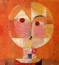 Paul Klee, self-portrait