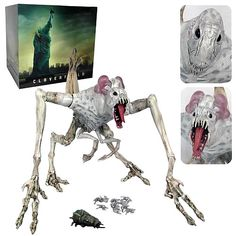 Cloverfield Monster Electronic Action Figure
