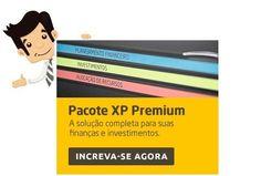 Pacote XP Premium - Conquiste agora sua Independência Financeira - A solução completa, com material impresso e transmissões online, para você assegurar os resultados dos seus investimentos e garantir a conquista da sua independência financeira.
