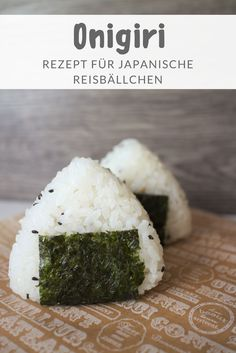 Onigiri Rezept: 3 schnelle & einfache Ideen Onigiri Recipe: Japanese rice balls with different fillings Hamburger Meat Recipes, Pork Chop Recipes, Fish Recipes, Asian Recipes, Mexican Food Recipes, Chinese Recipes, Japanese Rice, Japanese Dishes, Healthy Eating Tips