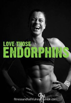 so happy...love this and those endorphins!