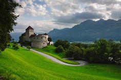 El castillo de Vaduz, icono de Liechtenstein.