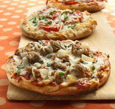 Individual Pillsbury Grand Pizzas