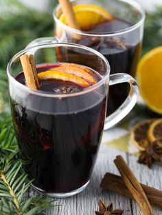 Organic Mulled Wine German Style - @veganheaven_