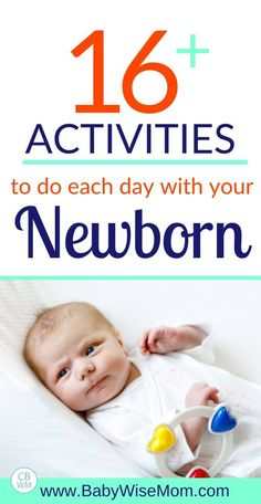 16 plus activities to do each day with your newborn. Best Toys for Baby: Ages Months. Best toys and activities for newborn babies ages months old. Ideas for waketime with your baby. Newborn Baby Tips, Newborn Toys, Newborn Care, Newborn Babies, Toys For Newborns, Toys For Babies, 3 Months Baby Activities, Newborn Activities, Diy Baby Toys 3 Months