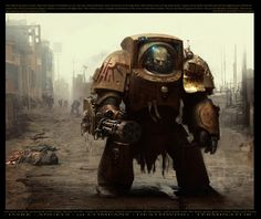 Be amazed by the colorful art of Jose Daniel Cabrera Peña, an artist focused in historical , fantasy and sci-fi illustration, concept art, and matte paint Warhammer Fantasy, Warhammer 40k Art, Warhammer Online, Dark Angels, Space Marine, Science Fiction, Concept Art World, Santa Monica, Illustration