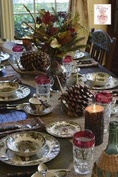 Nancy's Daily Dish: The History of Johnson Brothers and The Friendly Village Tablescape. 8/2015