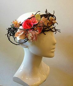 Curl Paper Floral Crown by Mandy Duncan ofCurl Paper Artistry