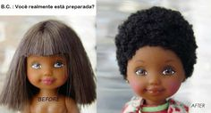 Soul Cacheada: Pare e pense antes de agir. Você está preparada pa... Natural Hair Tips, Natural Hair Inspiration, Natural Hair Styles, Big Chop, Chop Chop, Hair Inspo, Hair Hacks, Afro, Baby Dolls